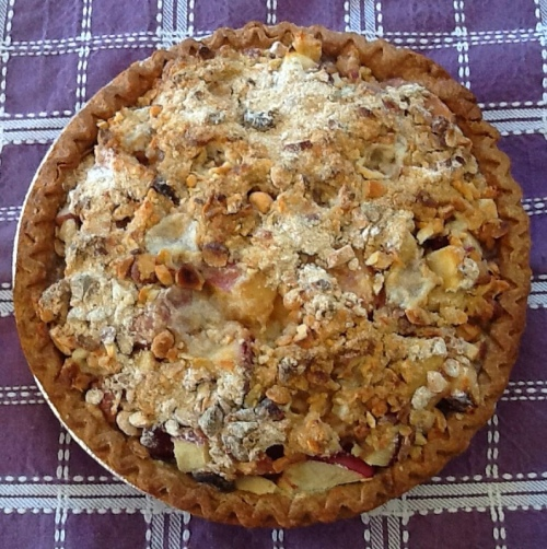 Summer Pie with Crumb Top...easy, water-sustainable and delicious (Fruit Pie Recipe)