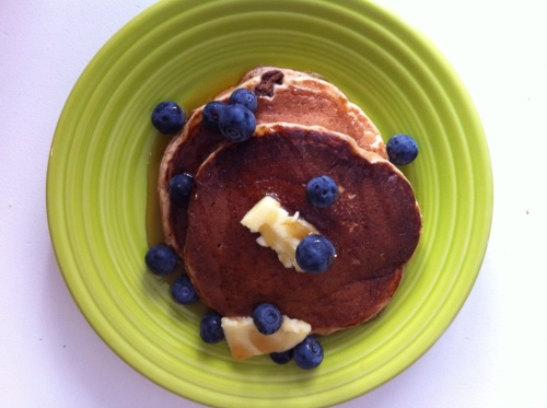 HUSBANDmade Organic Pancakes From Scratch (Pancake Recipe)